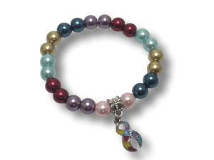 Autism Awareness Ribbon Beaded Bracelet The Awareness Expo Autism