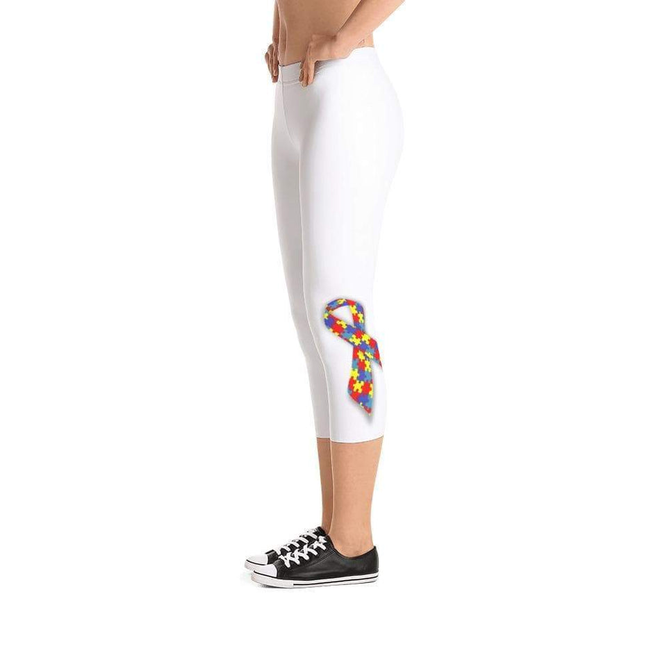 Autism Awareness Ribbon Women Leggings The Awareness Expo Autism