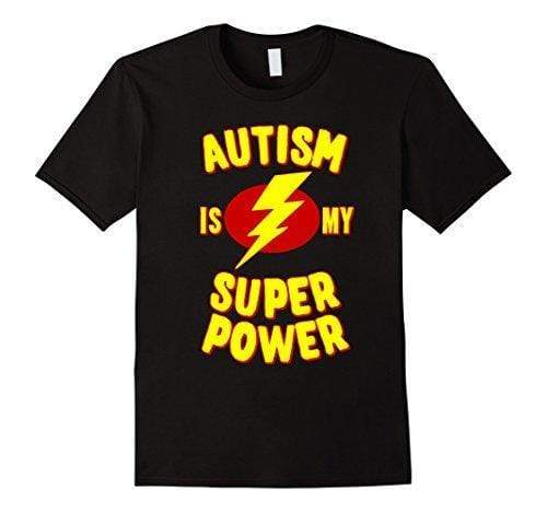 Autism is My Superpower (Lighting-bolt)T Shirt awareness-expo Autism