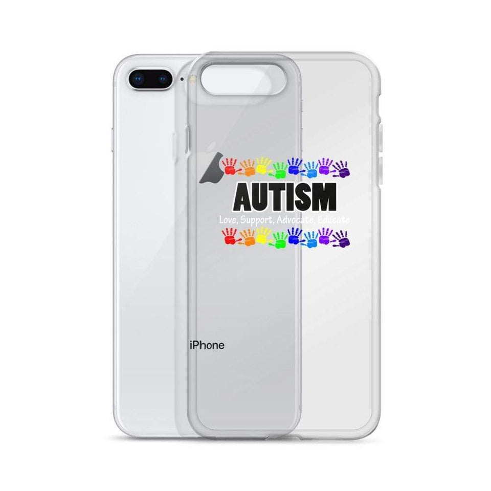 Autism Love, Support, Advocate, Educate iPhone Case The Awareness Expo Autism