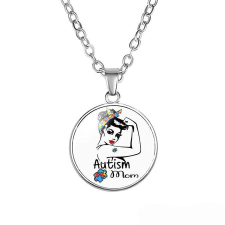Autism Mom Necklace The Awareness Expo Autism