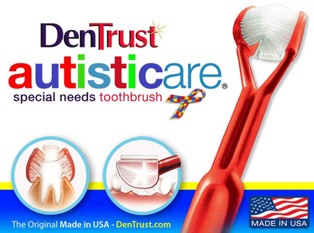 Autism Sensory 3 Sided Toothbrush The Awareness Expo Autism