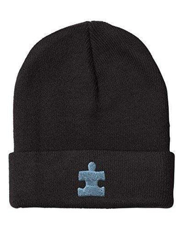 Autism Puzzle Piece Beanie Hat The Awareness Expo Autism