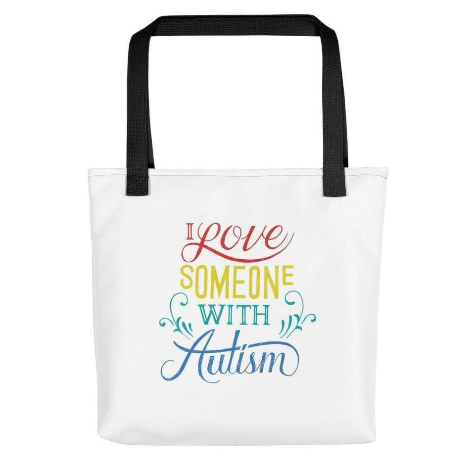 I Love Someone With Autism Handbag The Awareness Expo Autism