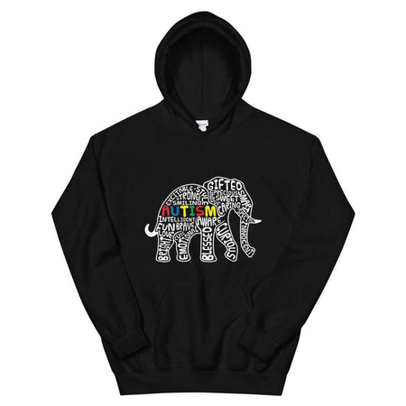 Autism Awareness Elephant Hoodie The Awareness Expo Autism