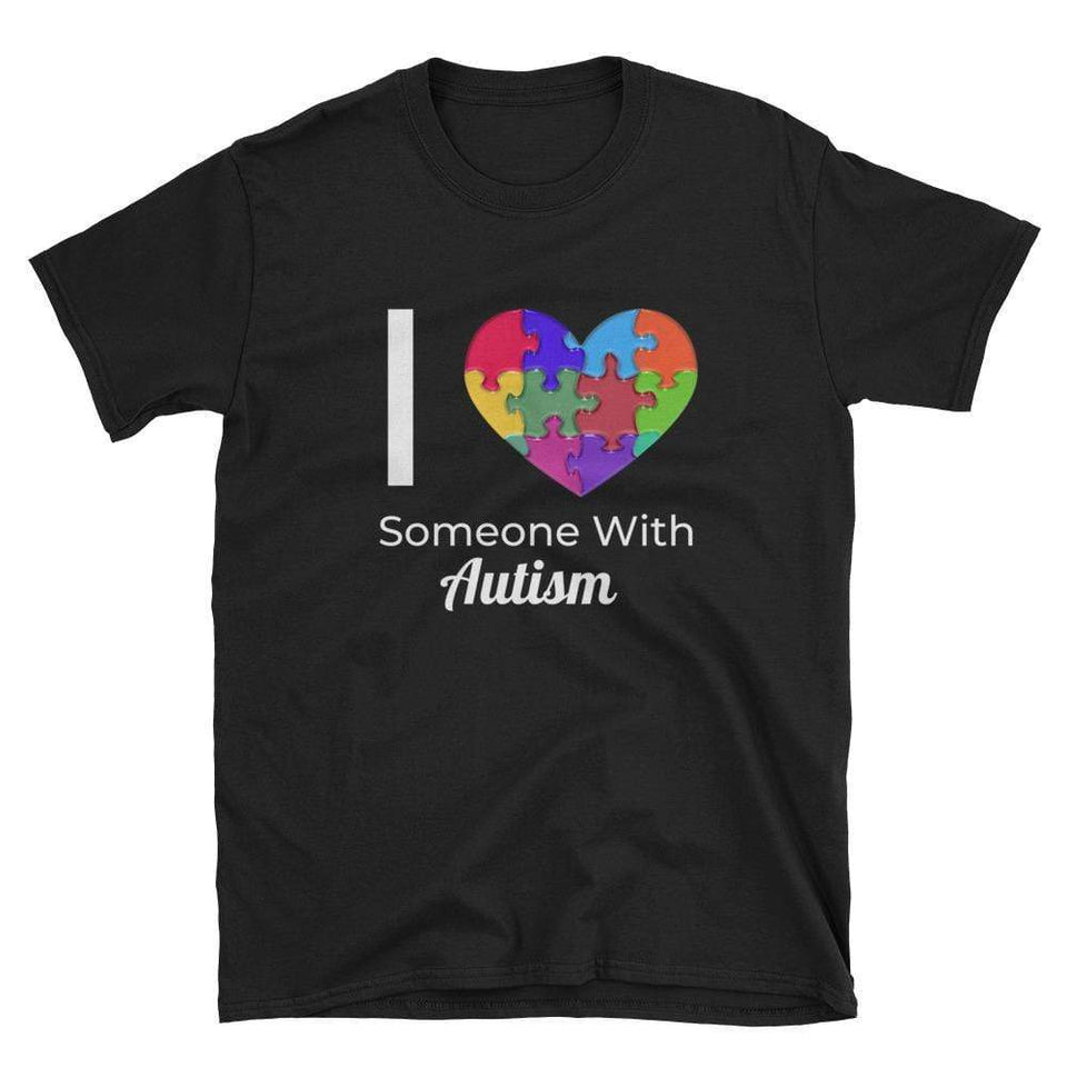 """I Love Someone With Autism"" T-Shirt The Awareness Expo Autism"