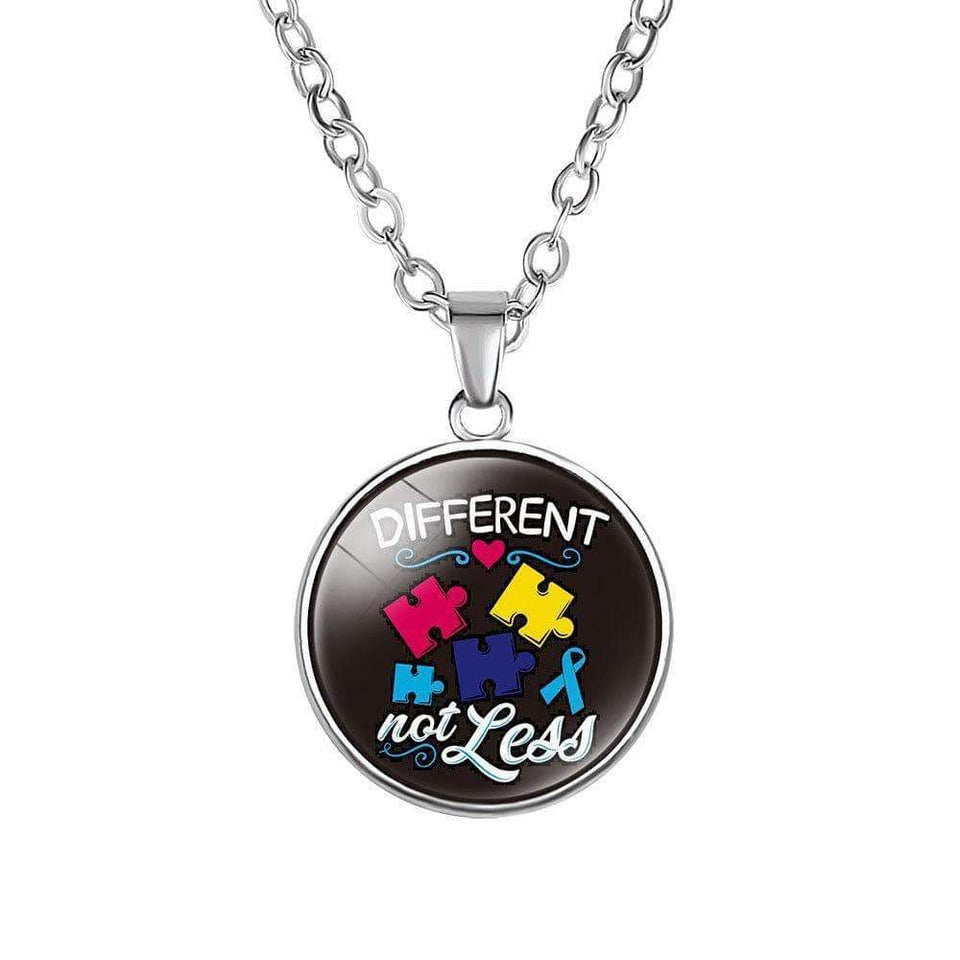 Different Not Less Autism Necklace The Awareness Expo Autism