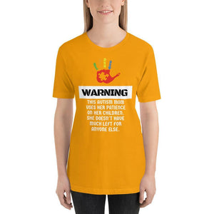 Autism Mom Warning Autism Awareness T-Shirt The Awareness Expo Autism
