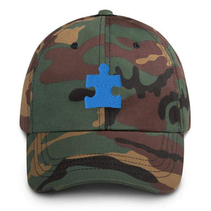 Autism Puzzle Piece Baseball Hat The Awareness Expo Autism