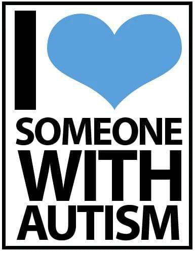 I Love Someone With Autism Iron On Patch The Awareness Expo Autism