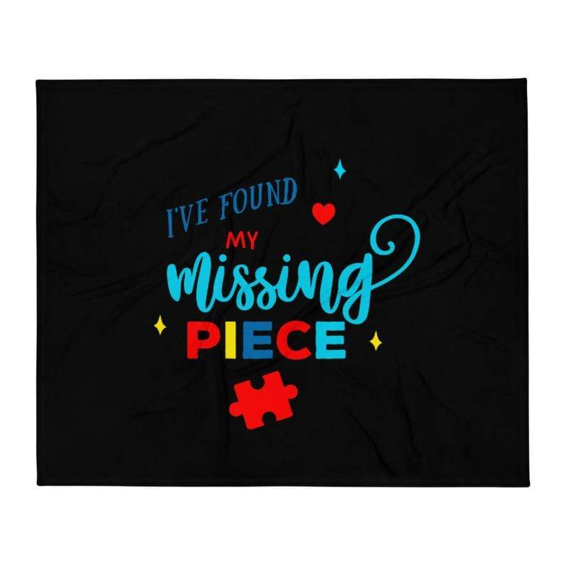 I've Found My Missing Piece Autism Awareness Blanket The Awareness Expo Autism