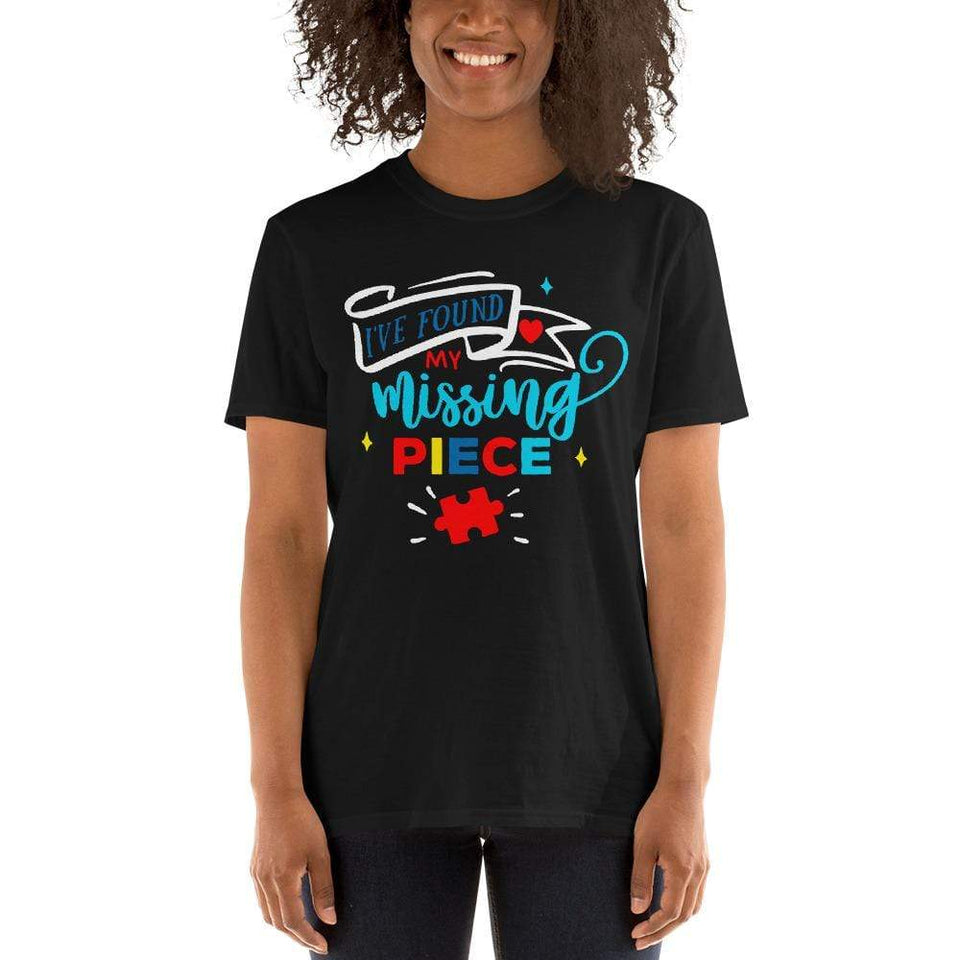 """I've Found My Missing Piece"" Autism Awareness T-Shirt The Awareness Expo Autism"