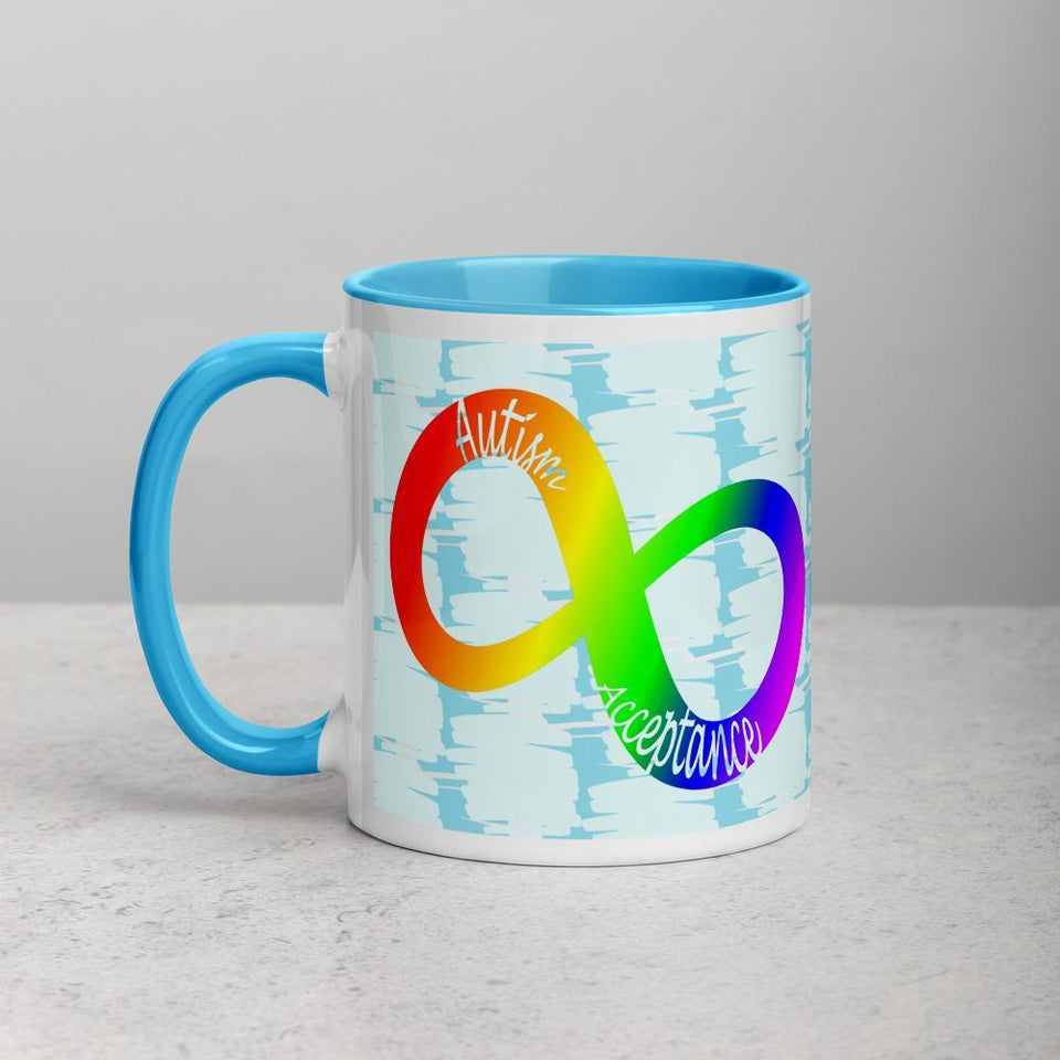 Infinity Autism Acceptance Mug The Awareness Expo Autism