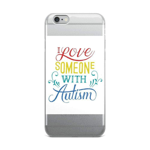 I love someone with Autism iPhone Case The Awareness Expo Autism