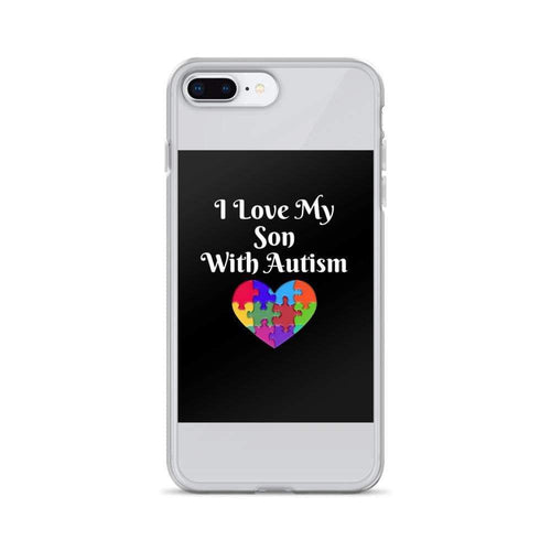 I Love My Son With Autism iPhone Case The Awareness Expo Autism