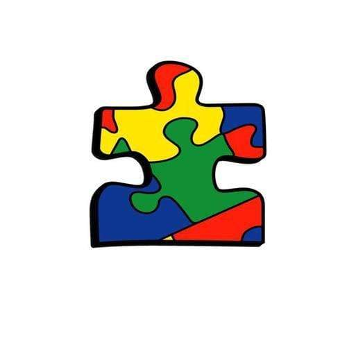 Iron On Autism Awareness Patch - Colorful Jigsaw Puzzle Piece The Awareness Expo Autism