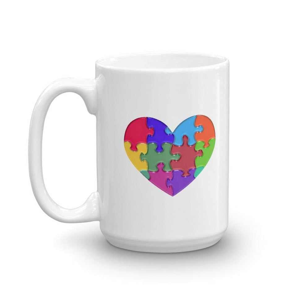 """It's An Autism Thing"" Autism Heart Coffee Mug The Awareness Expo Autism"