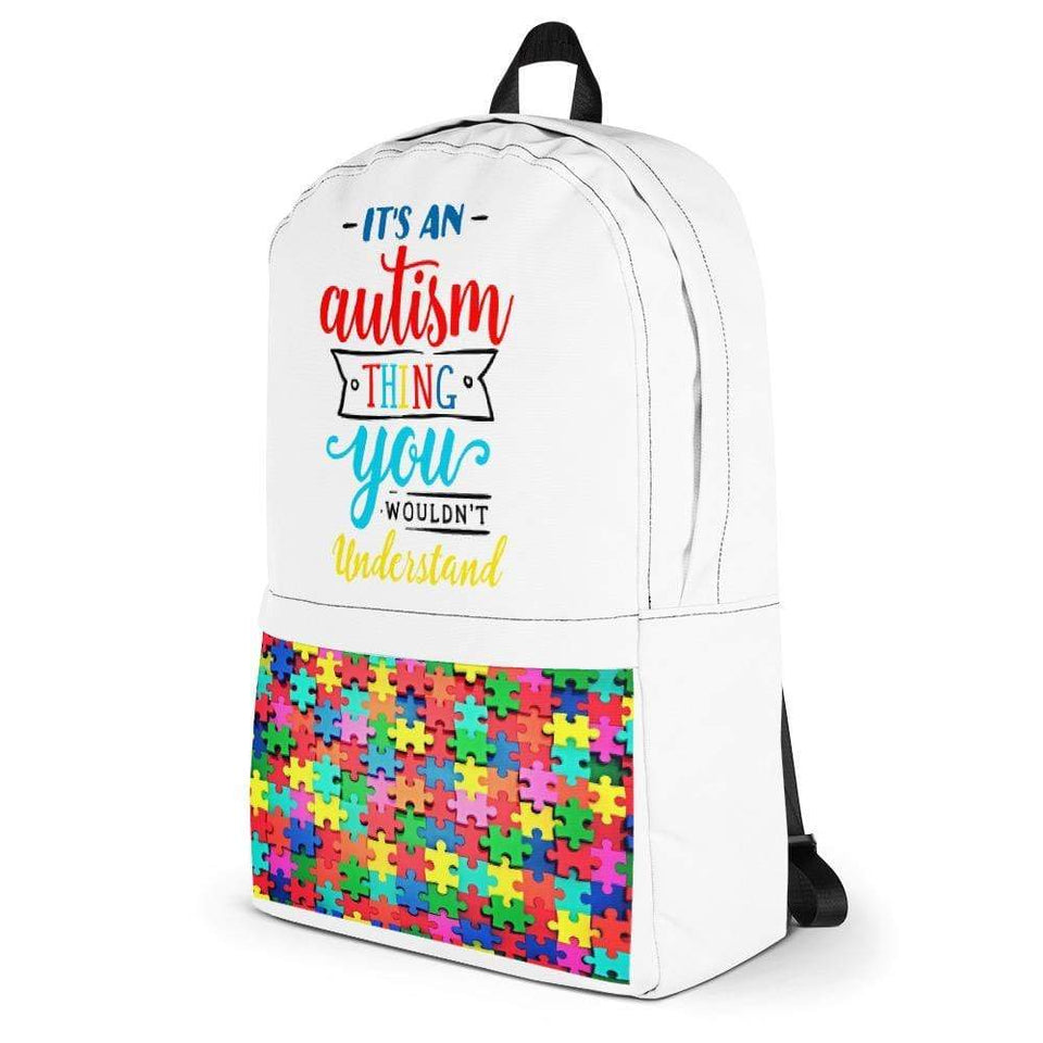 It's an Autism Thing Backpack The Awareness Expo Autism