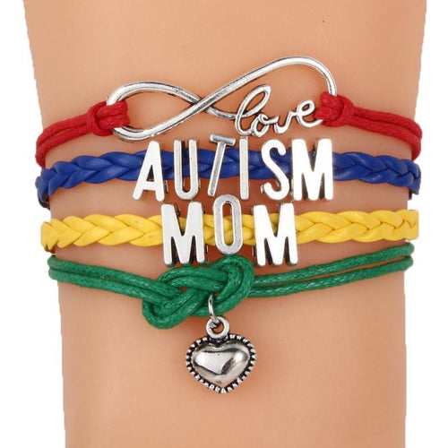 Family Infinity Love Autism Awareness Bracelet The Awareness Expo Autism