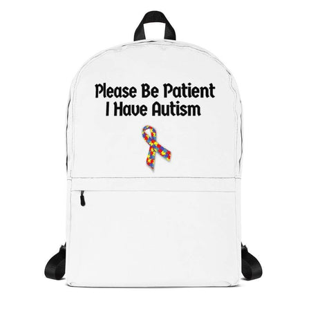 Please Be Patient I Have Autism Backpack The Awareness Expo Autism