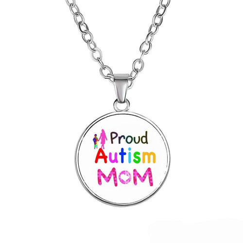 Proud Autism Mom Necklace The Awareness Expo Autism