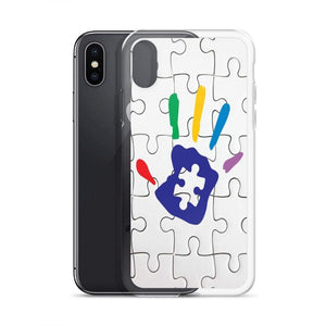 Puzzle Piece Autism Hand iPhone Case The Awareness Expo Autism