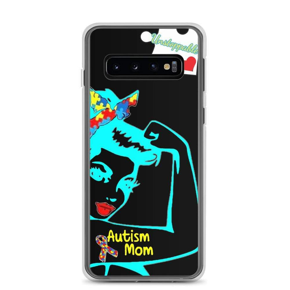 """Unstoppable Autism Mom"" Samsung Case The Awareness Expo Autism"