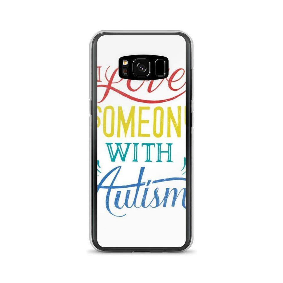 I Love Someone With Autism Samsung Case The Awareness Expo Autism