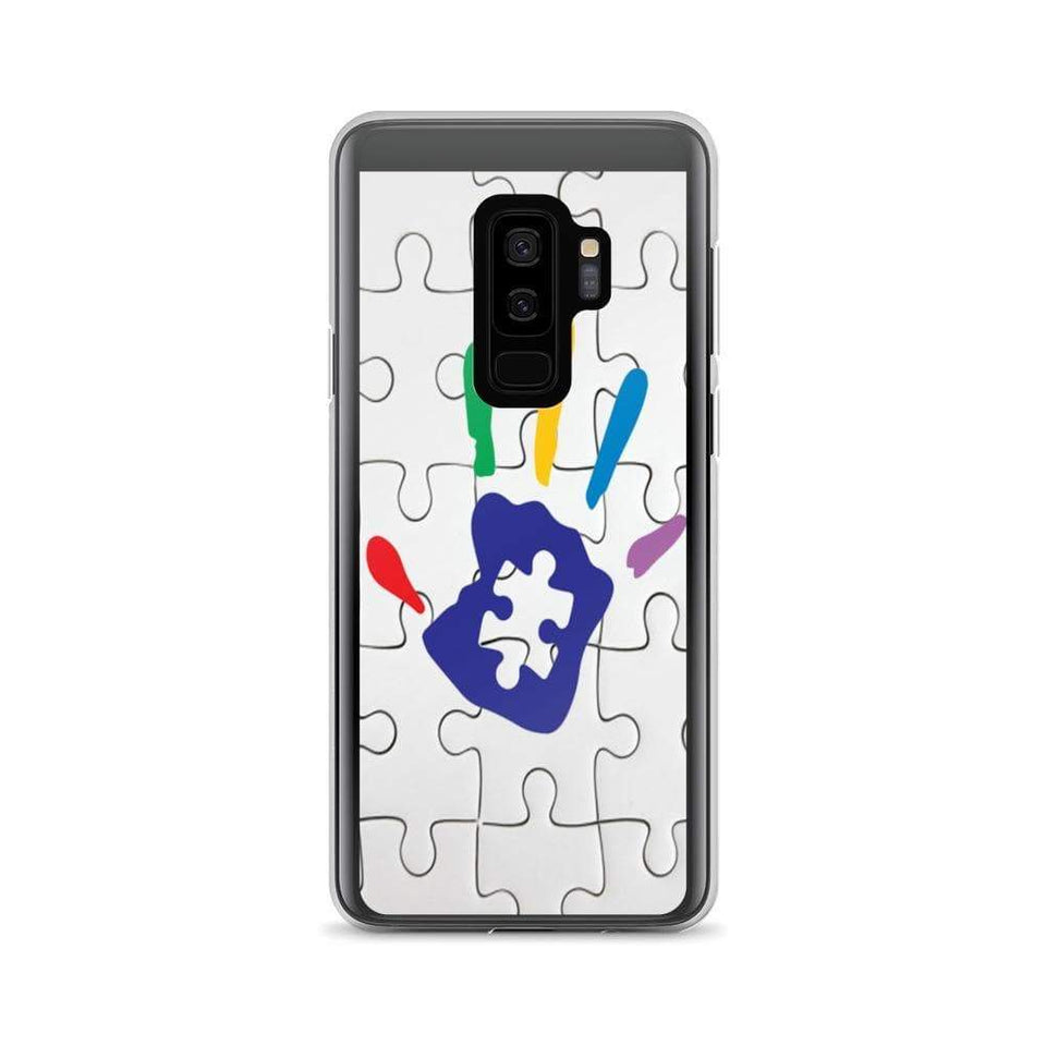 Puzzle Piece Autism Hand Samsung Case The Awareness Expo Autism