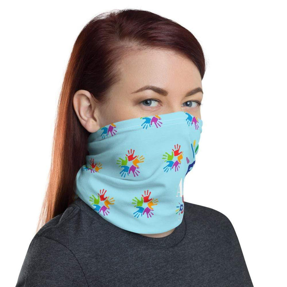 Autism Strong Face Mask/Neck Gaiter The Awareness Expo