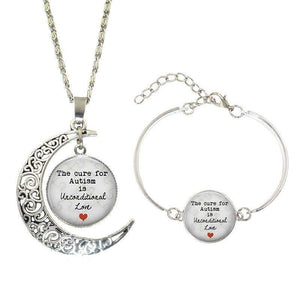 """The Cure For Autism is Unconditional Love"" Gift Set The Awareness Expo Autism"