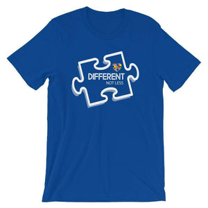 Different Not Less Autism Awareness T-Shirt The Awareness Expo Autism