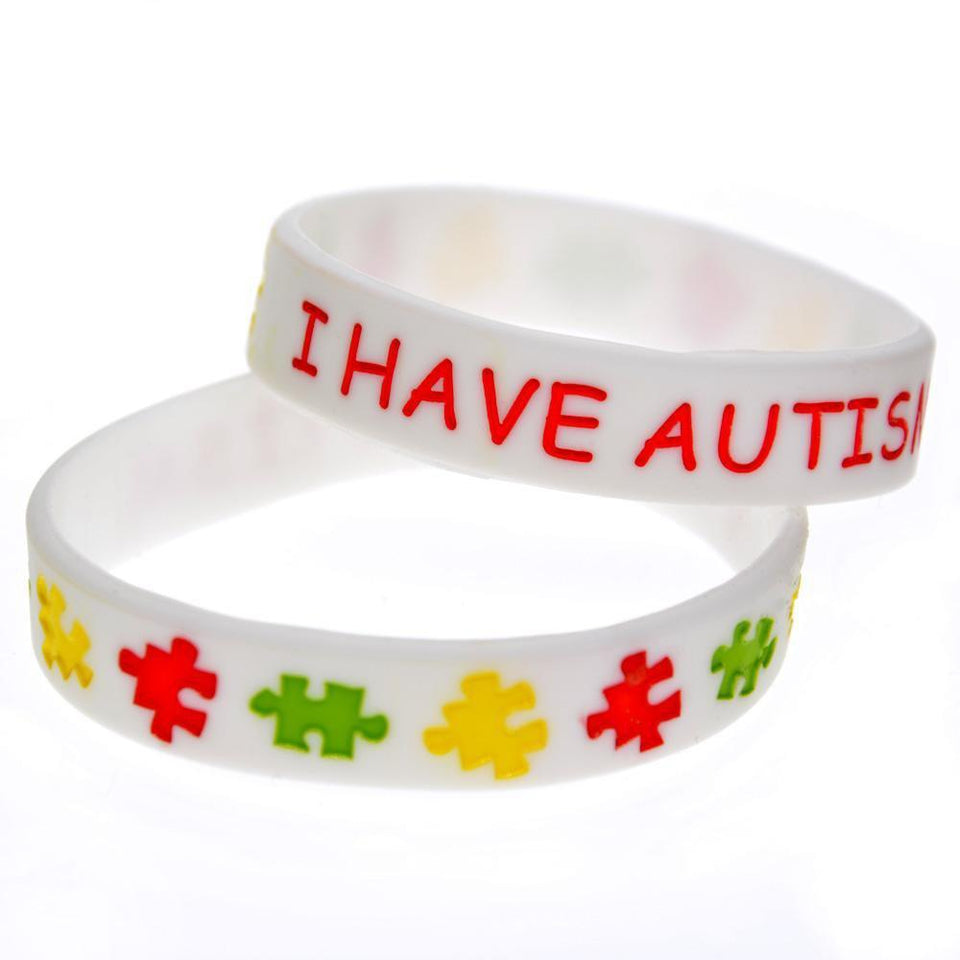 """I Have Autism"" Rubber Wristband The Awareness Expo Autism"