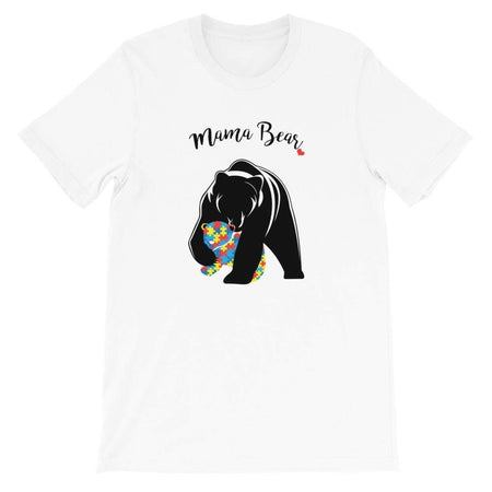 """Loving Mama Bear"" Autism Awareness T-Shirt The Awareness Expo Autism"