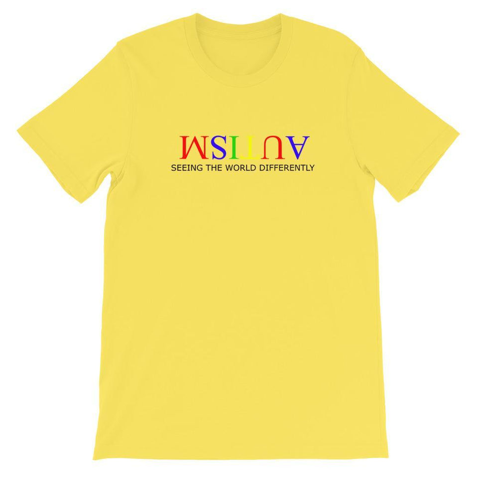 Autism Seeing The World Differently T Shirt The Awareness Expo Autism