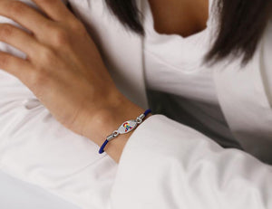 Autism Awareness Ribbon Stretch Bracelet