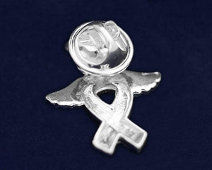 Angel Ribbon Autism Awareness Pin