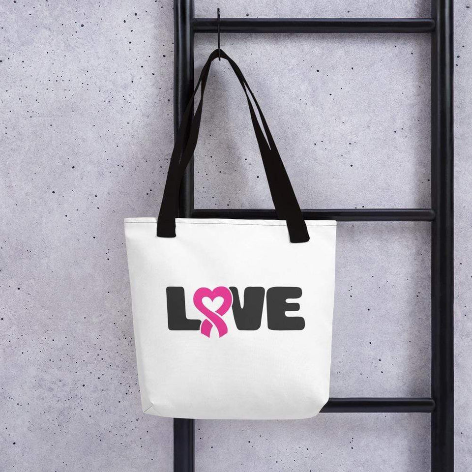 """Love"" Breast Cancer Handbag The Awareness Expo Breast Cancer"