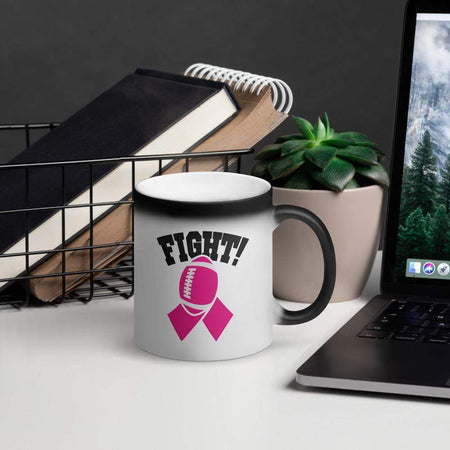 """Fight"" Breast Cancer Awareness Magic Mug The Awareness Expo Breast Cancer"