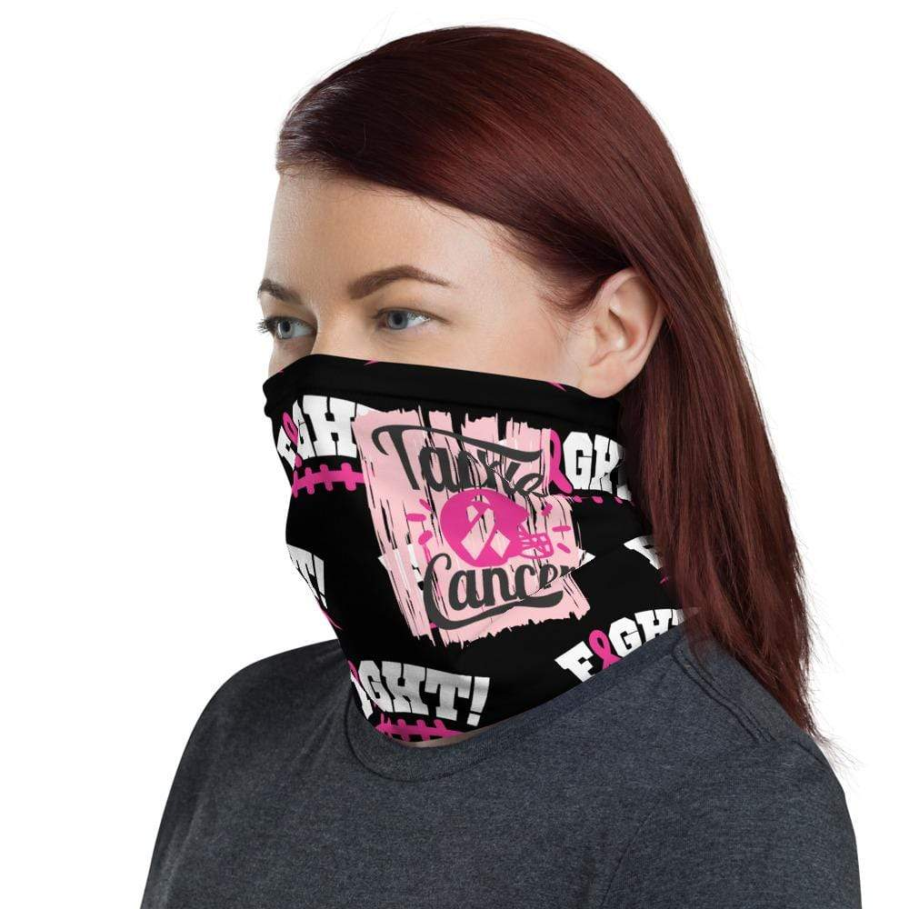 Breast Cancer Football Face Mask The Awareness Expo
