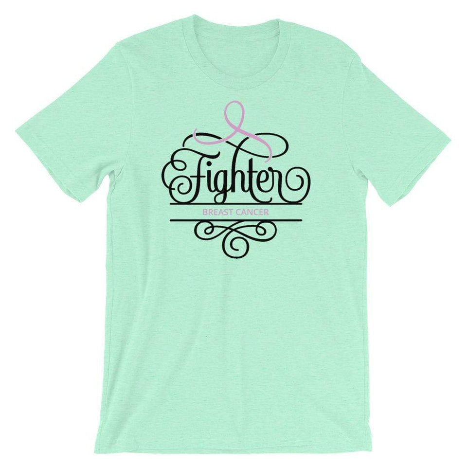 """Fighter"" Breast Cancer Awareness T-Shirt The Awareness Expo Breast Cancer"