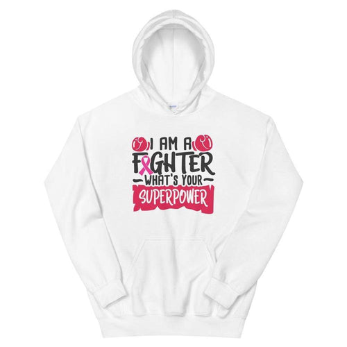 I Am a Fighter Breast Cancer Awareness Hoodie The Awareness Expo Breast Cancer