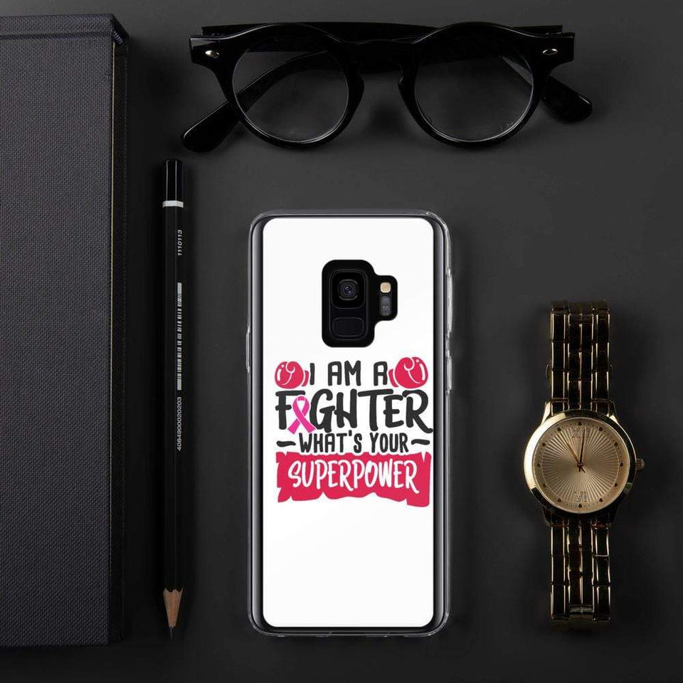 I am a Fighter Breast Cancer Awareness Samsung Case The Awareness Expo Breast Cancer