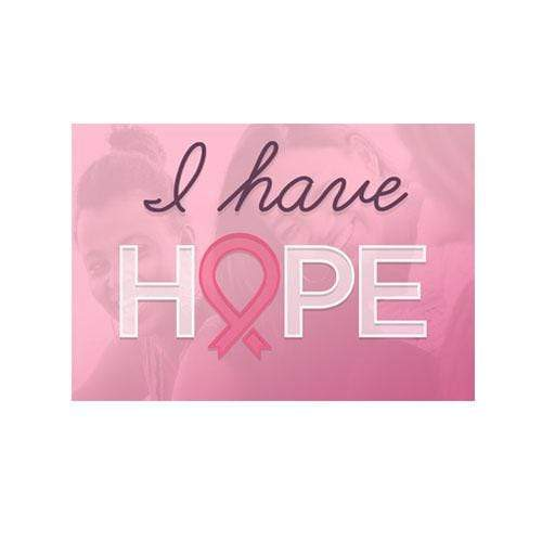 I Have Hope - Iron On Patch The Awareness Expo Breast Cancer