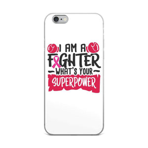 I am a Fighter Breast Cancer Awareness iPhone Case The Awareness Expo Breast Cancer