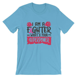 I Am a Fighter Breast Cancer Awareness T-Shirt The Awareness Expo Breast Cancer