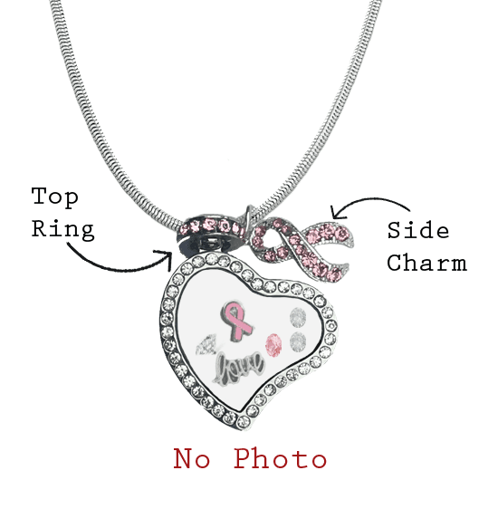 Personalized Breast Cancer Awareness Love Locket The Awareness Expo Breast Cancer