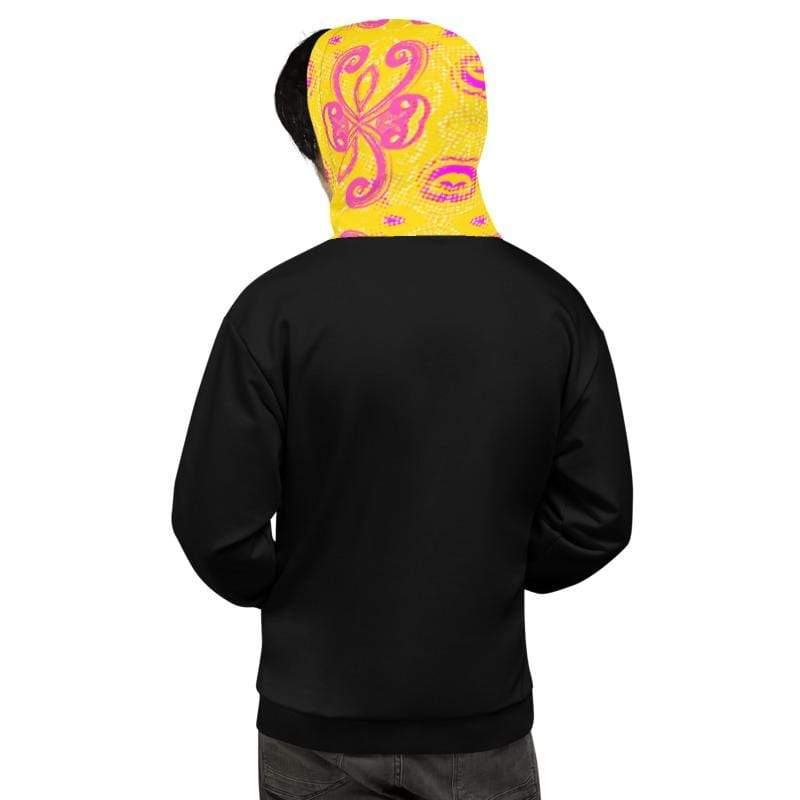 "Premium ""Fighter"" Black Breast Cancer Hoodie The Awareness Expo Breast Cancer"