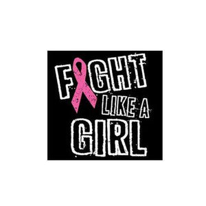 Fight Like A Girl - Iron On Patch The Awareness Expo Breast Cancer