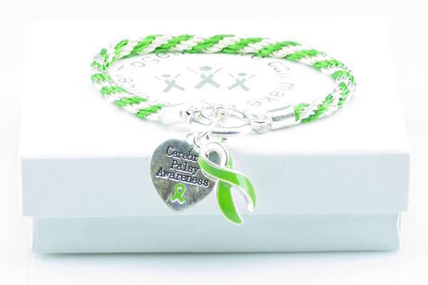 Cerebral Palsy Heart Charm Bracelet The Awareness Expo Cerebral Palsy